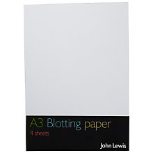Buy John Lewis A3 Blotting Paper Online at johnlewis.com