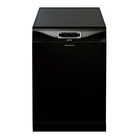 Buy Smeg DC122B Dishwasher, Black Online at johnlewis.com