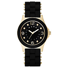 Buy Marc by Marc Jacobs MBM2540 Women's Pelly Black Bracelet Watch Online at johnlewis.com