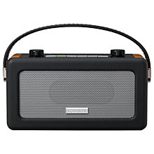 Buy ROBERTS Vintage DAB Radio, Wood/Black Online at johnlewis.com