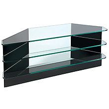 "Buy Greenapple GL59293 Flair TV Stand for TVs up to 37"", Black Online at johnlewis.com"