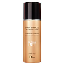 Buy Dior Bronze Sun Protection Body Suncare Spray SPF15, 200ml Online at johnlewis.com