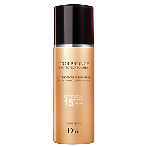 Buy Dior Dior Bronze Sun Protection Body Suncare Spray SPF15, 200ml Online at johnlewis.com