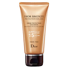 Buy Dior Dior Bronze Sun Protection Face Suncare Tube SPF15, 50ml Online at johnlewis.com