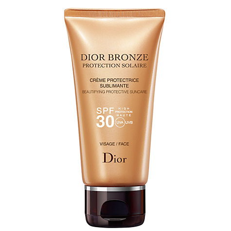 Buy Dior Dior Bronze Sun Protection Face Suncare Tube SPF30, 50ml Online at johnlewis.com