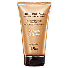 Buy Dior Dior Bronze Sun Protection Body Suncare Tube SPF30, 150ml Online at johnlewis.com