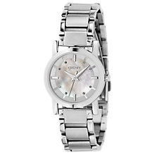 Buy DKNY NY4519 Women's Silver Round Bracelet Watch Online at johnlewis.com