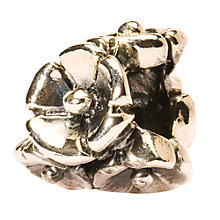 Buy Trollbeads 'Forget-me-not' Silver Bead Online at johnlewis.com