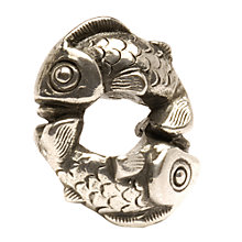 Buy Trollbeads 'Happy Fish' Silver Bead Online at johnlewis.com