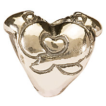 Buy Trollbeads 'Hugging Heart' Silver Bead Online at johnlewis.com