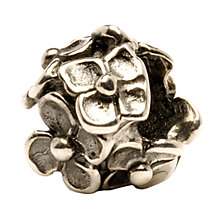 Buy Trollbeads 'Hydrangea' Silver Bead Online at johnlewis.com
