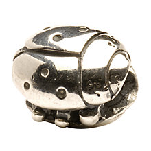 Buy Trollbeads 'Ladybird' Silver Bead Online at johnlewis.com