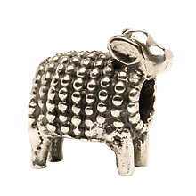 Buy Trollbeads 'Lamb' Silver Bead Online at johnlewis.com