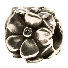 Buy Trollbeads 'Rose' Silver Bead Online at johnlewis.com