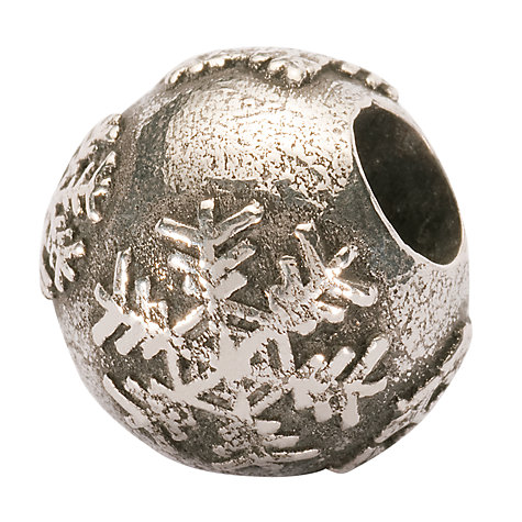 Buy Trollbeads 'Snowball' Silver Bead Online at johnlewis.com
