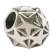Buy Trollbeads 'Sparkling Star' Silver Bead Online at johnlewis.com