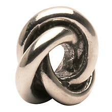 Buy Trollbeads 'Three In One' Bead, Silver Online at johnlewis.com