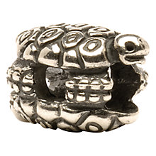 Buy Trollbeads 'Turtles' Silver Bead Online at johnlewis.com