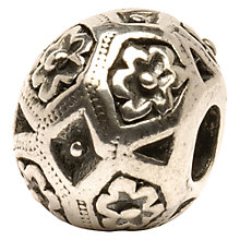 Buy Trollbeads Zanzibar Bead, Silver Online at johnlewis.com