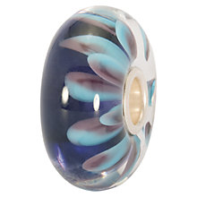 Buy Trollbeads Blue Petals Glass Bead Online at johnlewis.com