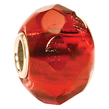 Buy Trollbeads Bright Red Prism Glass Bead Online at johnlewis.com