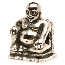Buy Trollbeads 'Buddha' Silver Bead Online at johnlewis.com