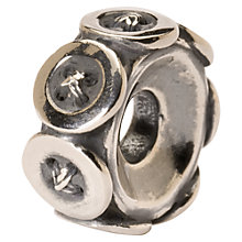 Buy Trollbeads 'Buttons' Silver Bead Online at johnlewis.com