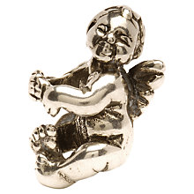 Buy Trollbeads Cherub Silver Bead Online at johnlewis.com