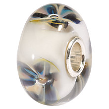 Buy Trollbeads Desert Flower Glass Bead Online at johnlewis.com