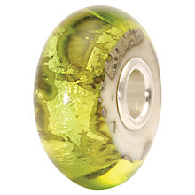 Buy Trollbeads Earth Glass Bead, Green Online at johnlewis.com
