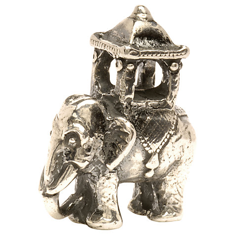 Buy Trollbeads 'Indian Elephant' Silver Bead Online at johnlewis.com