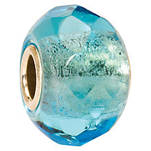 Buy Trollbeads Prism Glass Bead, Light Turquoise Online at johnlewis.com