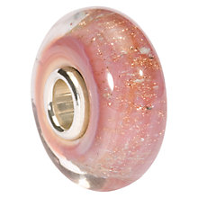 Buy Trollbeads Pink Desert Glass Bead, Pink Online at johnlewis.com