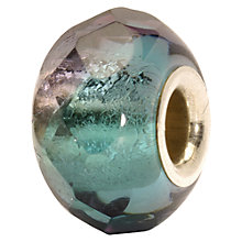 Buy Trollbeads Turquoise Prism Glass Bead, Turquoise Online at johnlewis.com