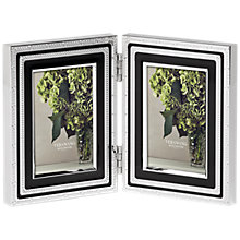 Buy Vera Wang for Wedgwood With Love Double Photograph Frame, Noir Online at johnlewis.com