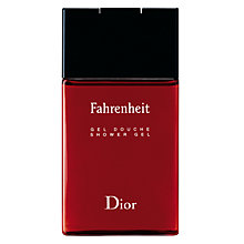 Buy Dior Fahrenheit Shower Gel, 150ml Online at johnlewis.com