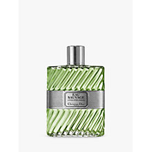 Buy Dior Eau Sauvage Aftershave Lotion, 200ml Online at johnlewis.com