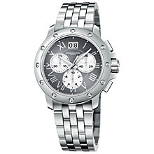 Buy Raymond Weil 4899-ST-00668 Tango Men's Chronograph Stainless Steel Bracelet Watch Online at johnlewis.com