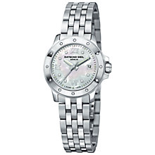 Buy Raymond Weil 5399-ST-00995 Tango Ladies Round Stainless Steel Bracelet Watch Online at johnlewis.com
