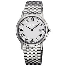 Buy Raymond Weil 5466-ST-00300 Tradition Slim Men's Stainless Steel Watch Online at johnlewis.com