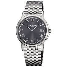Buy Raymond Weil 5466-ST-00608 Tradition Men's Stainless Steel Bracelet Watch Online at johnlewis.com