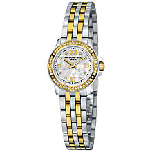 Buy Raymond Weil 5799-SPS-00995 Tango Women's Two Tone Diamond Set Bracelet Watch Online at johnlewis.com