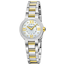 Buy Raymond Weil 5927-SPS-00995 Noemia Women's Round Diamond Bezel Two-Tone Bracelet Watch Online at johnlewis.com