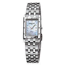 Buy Raymond Weil 5971-ST-00915 Tango Women's Mini Mother of Pearl Bracelet Watch Online at johnlewis.com