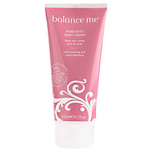 Buy Balance Me Rose Otto Body Cream, 200ml Online at johnlewis.com