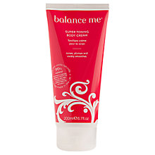 Buy Balance Me Super Toning Cream, 200ml Online at johnlewis.com