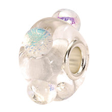 Buy Trollbeads 'Dichroic Ice' Glass Bead Online at johnlewis.com