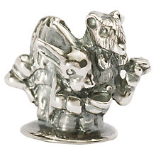 Buy Trollbeads 'English Tea Party' Silver Bead Online at johnlewis.com