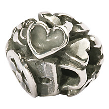Buy Trollbeads Love Spoons Silver Bead, Silver Online at johnlewis.com