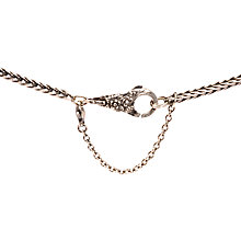 Buy Trollbeads Silver Safety Chain Online at johnlewis.com